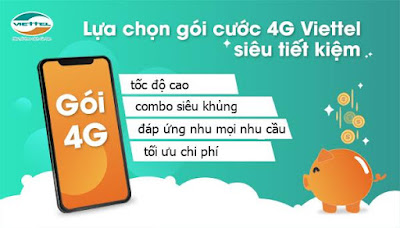 gói cước 4G Viettel đăng kí nhiều