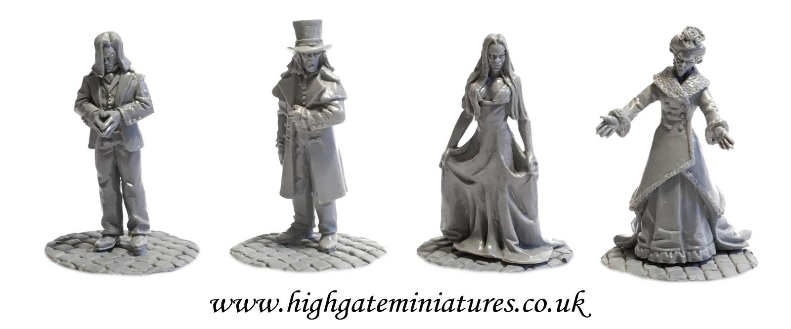 Highgate Miniatures Highgate14%2BAcolyte%2BVampires