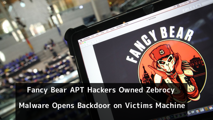 Fancy Bear APT Hackers Owned Zebrocy Malware Opens Backdoor on Victims Machine to Control it Remotely