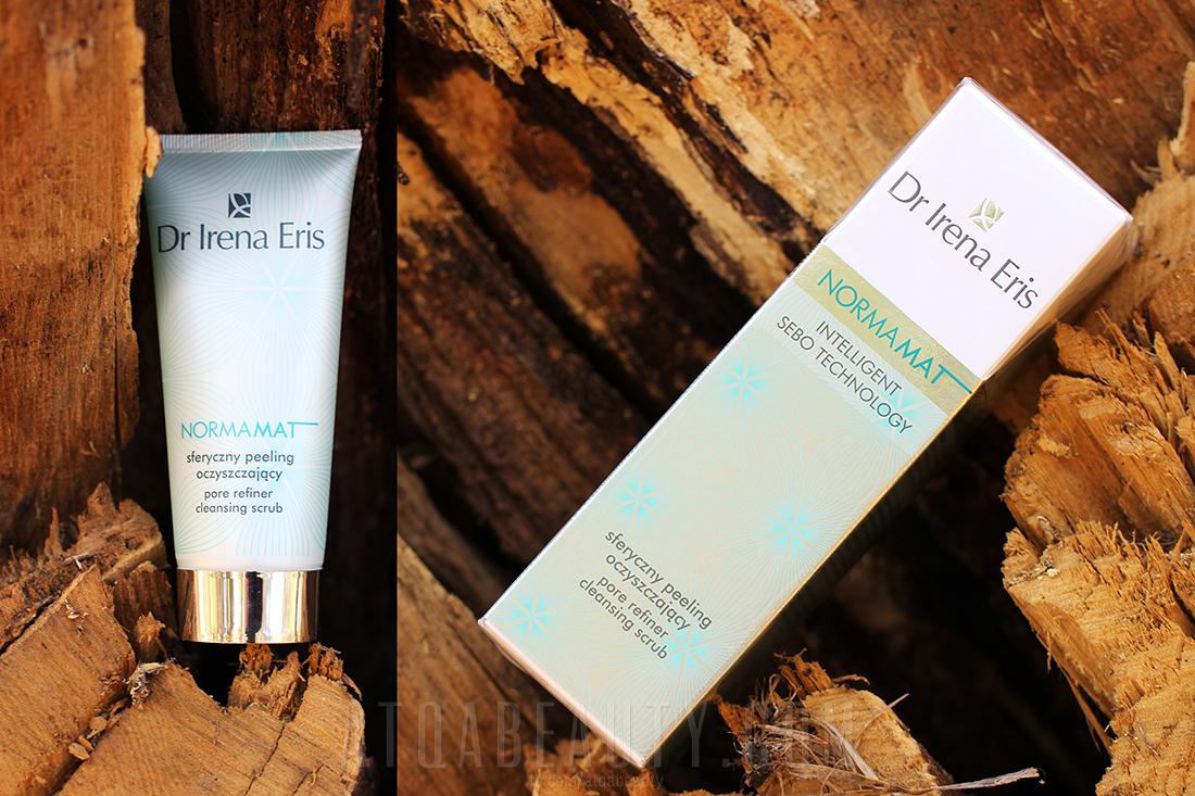 Dr Irena Eris • NORMAMAT • Sferyczny peeling oczyszczający