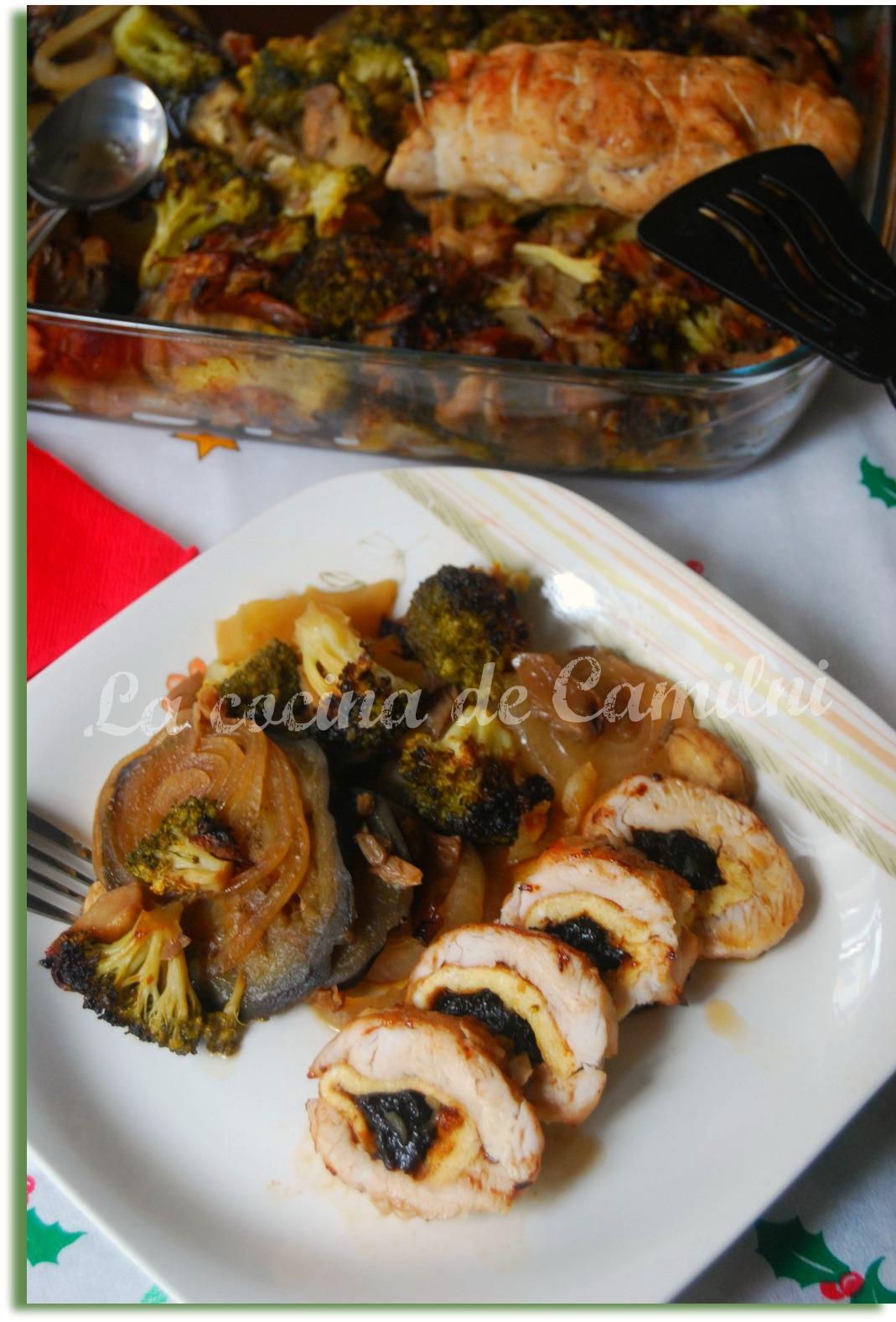 La cocina de camilni pechuga de pavo rellena con verduras al horno - Cocina al horno ...