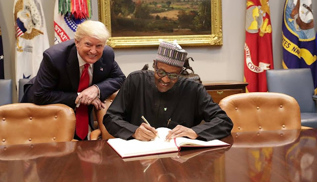 """""""Herdsmen Don't Carry AK-47"""" - Buhari Tells Trump"""