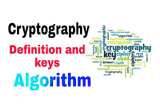 Cryptography definition their algorithm types and keys