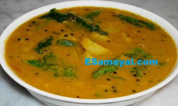 பேச்சிலர்ஸ் ஈசி சாம்பார் ரெசிபி | Bachelors EC Sambar Recipe !