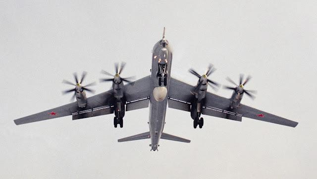 Cazas de la OTAN escoltan a 10 Tu-142 rusos en vuelos sobre alta mar
