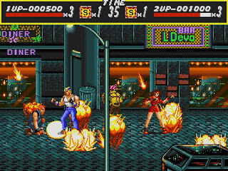 Videojuego Streets of Rage