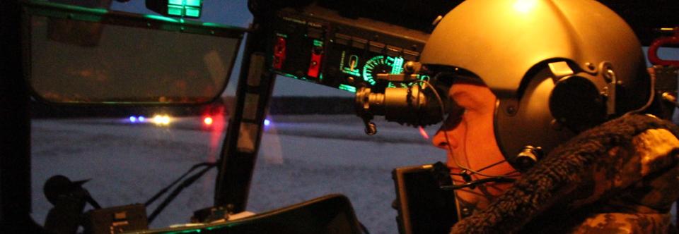 Армійська авіація дообладнує Мі-2 для польотів вночі
