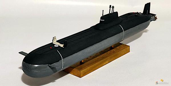 Submarino Balístico Nuclear Typhoon