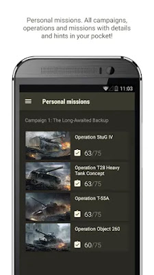 Screenshot World of Tanks Assistant
