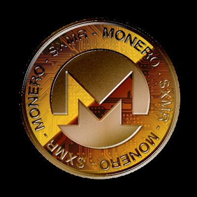 Moneroのフリー素材(銅貨ver)