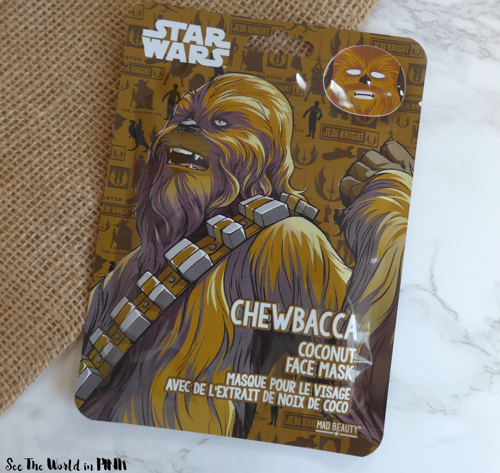 Mad Beauty Disney Star Wars Face Masks Set - Try on and Review