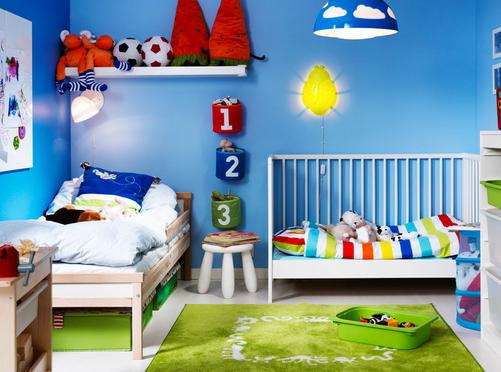 desain tempat tidur sporty untuk anak