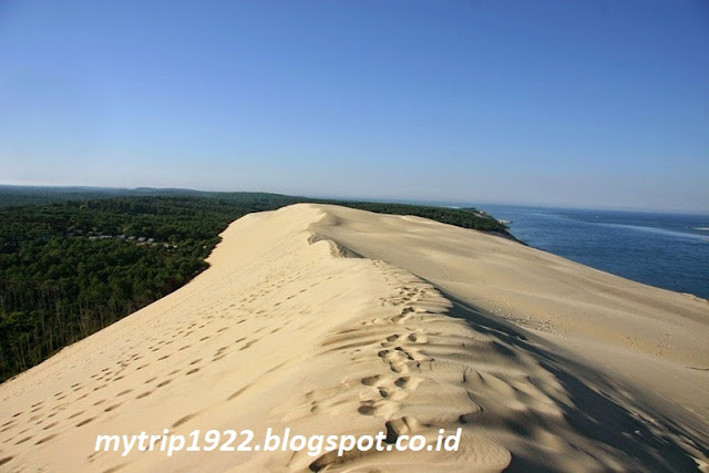 Padang Pasir The Great Dune of Pyla di Prancis