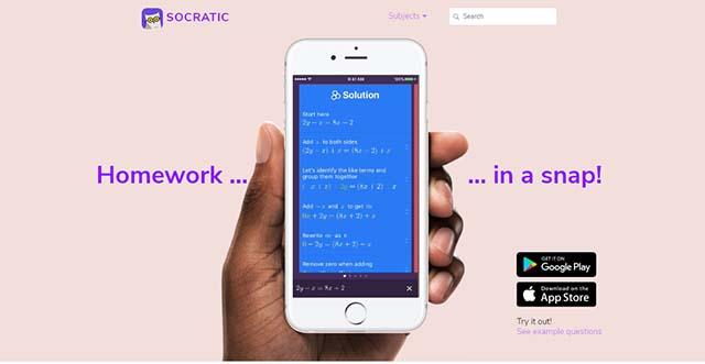 Socratic - Aplikasi Belajar Online