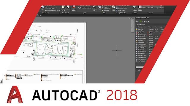 تحميل برنامج اوتوكاد AutoCAD 2018  مع التفعيل