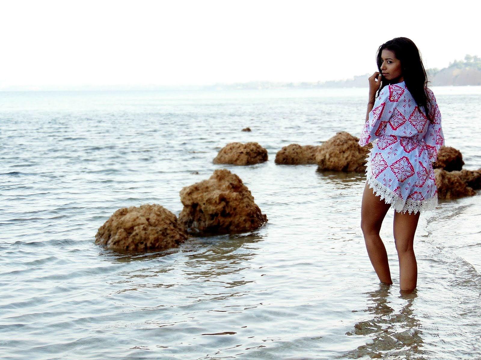 chic beach dress for summer