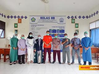 MCCC Jepara Bersama RS PKU Muhammadiyah Mayong Fasilitasi Pelaksanaan Prokes Ponpes Asy Syifa