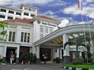 Penginapan Megah Bersejarah Hotel Garuda Yogyakarta