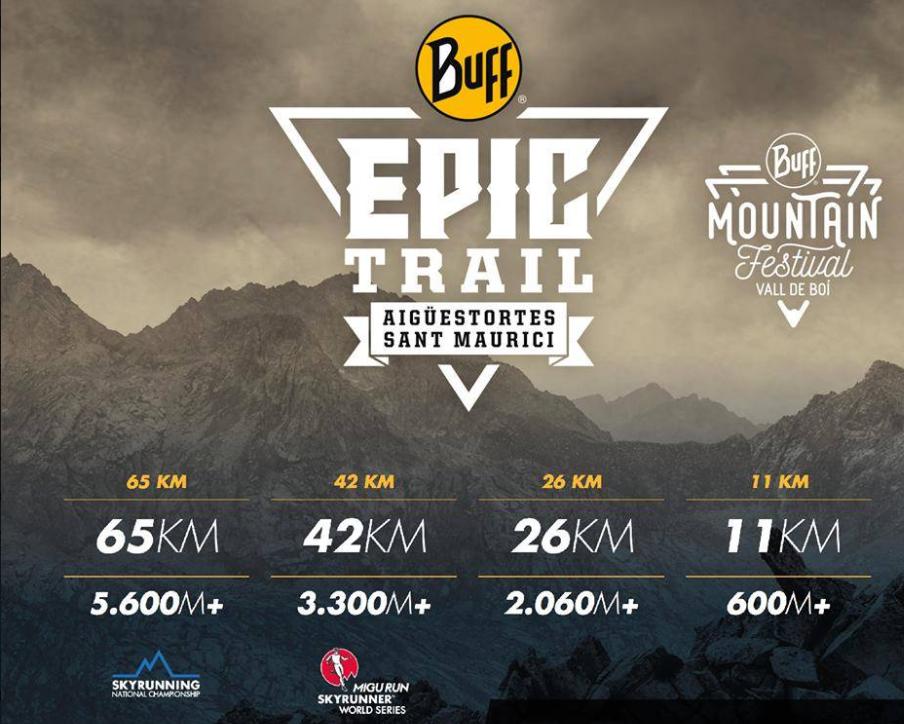 correr zapatos los Angeles selección asombrosa Corre, Álex, Corre: Buff Epic Trail - 42 km - 01/07/2018