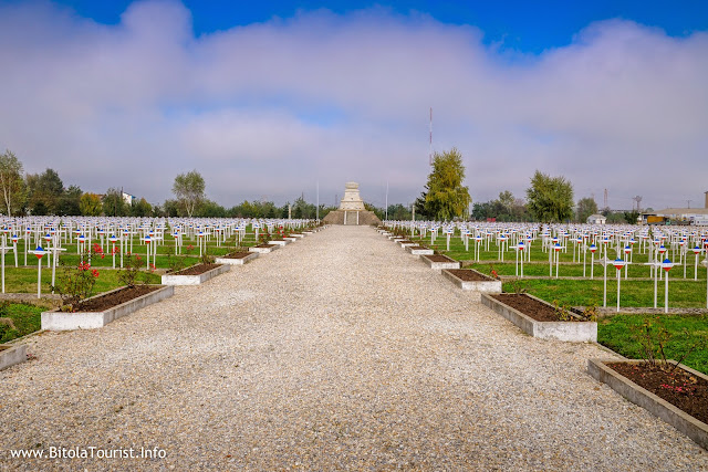 French military cemetery in Bitola - Bitola Cimetière Militaire Français - 01