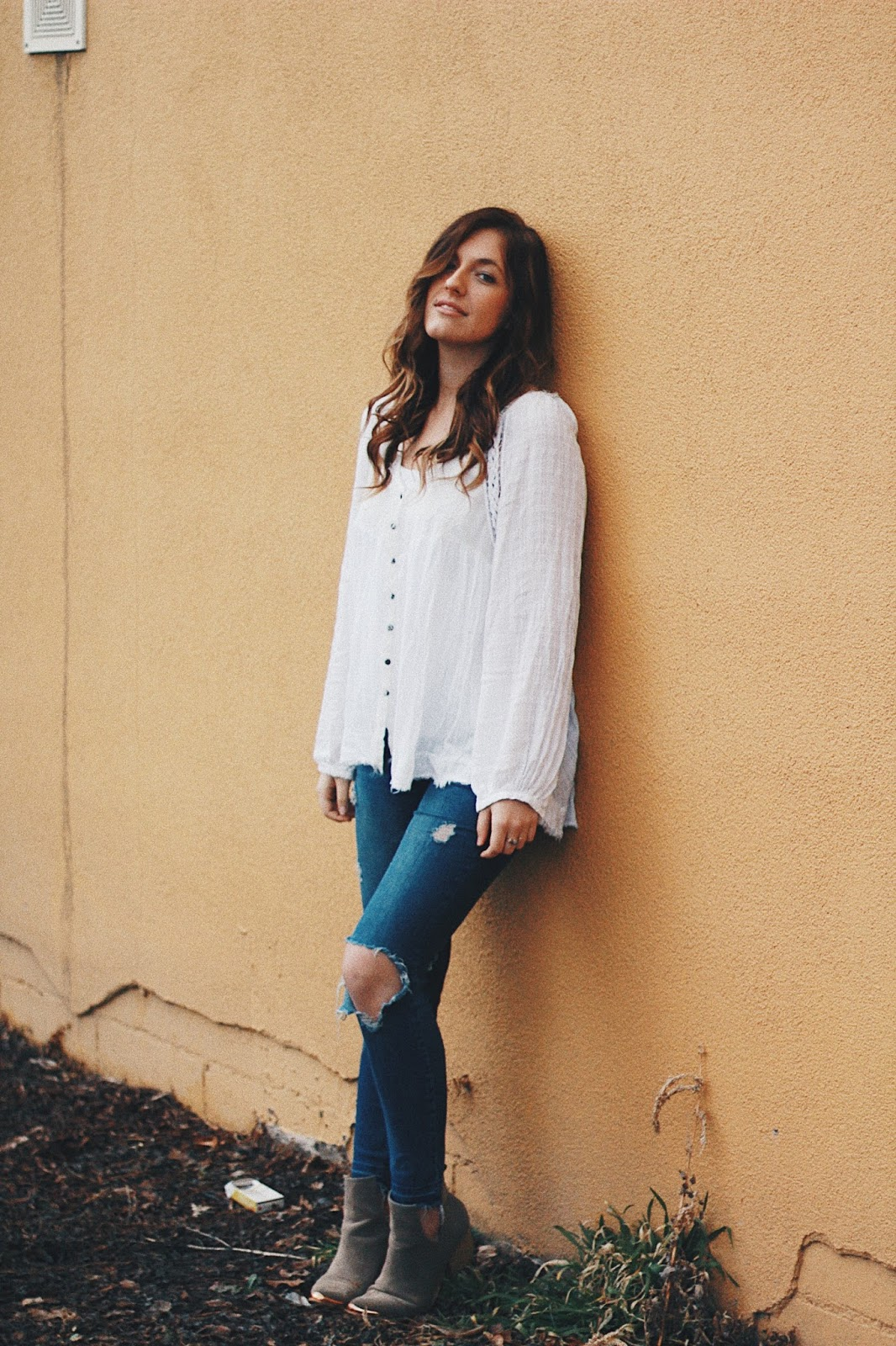 free people casual outfit