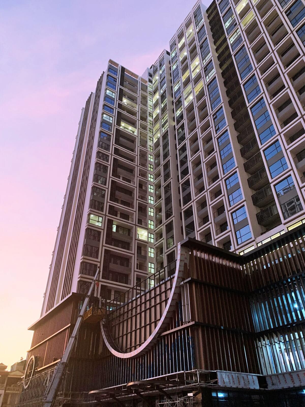 Tiến độ toà Sachi dự án Hinode City tháng 11/2019