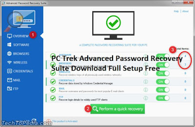 PC Trek Advanced Password Recovery Suite Download Full Setup Free