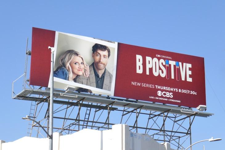 B Positive series premiere billboard
