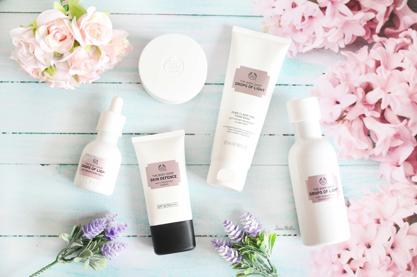 The Body Shop Drops Of Light And Skin Defence Multi Protection Essence A New Way To Get Brighter And Glowing Skin Jean Milka