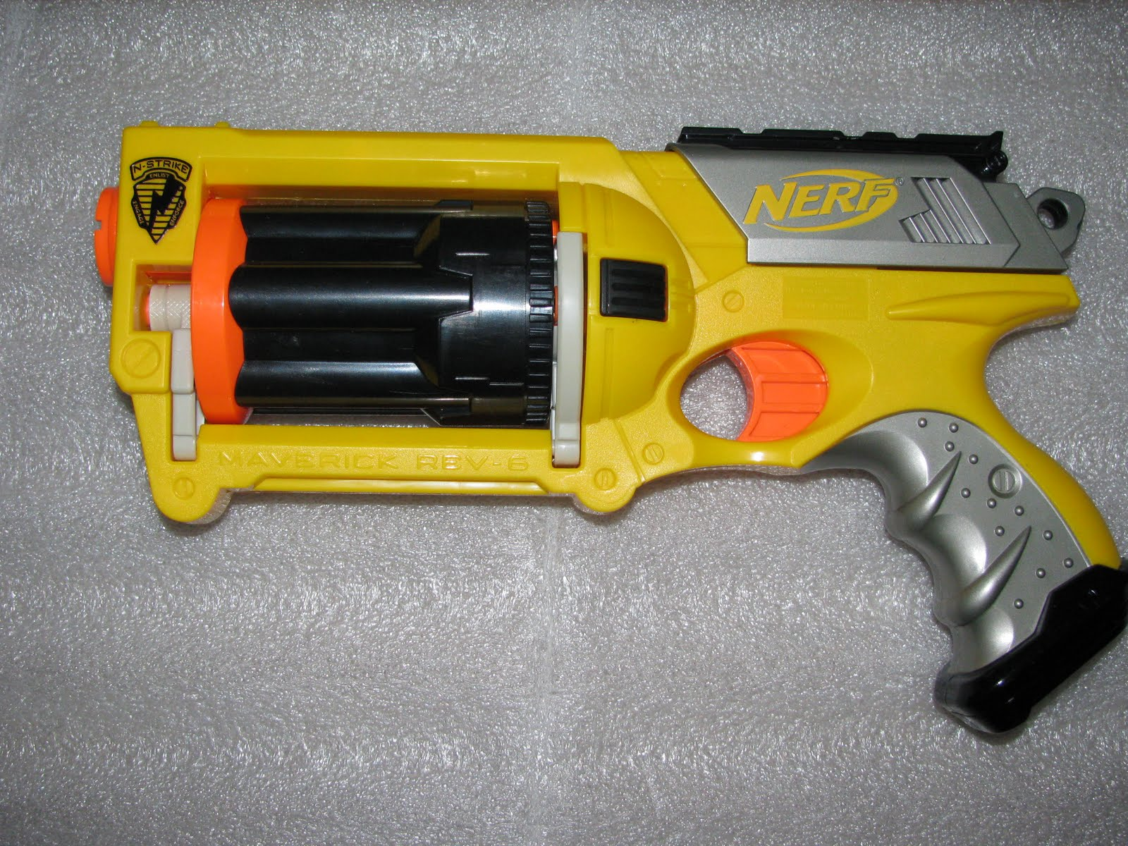 Random Number Generator: The beginning of it all, Nerf Maverick v1