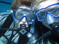 Megan & Renee Underwater