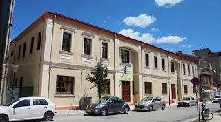 το νεοκλασικό κτίριο στην οδό Μ. Αλεξάνδρου 86 στη Φλώρινα