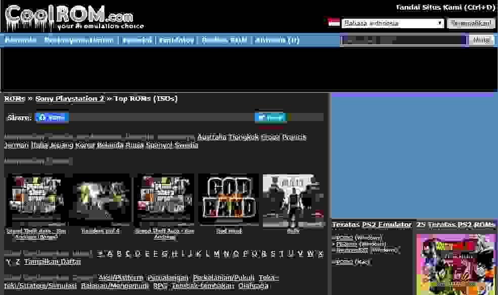 Cara download game ps2,7 game ps2 situs download iso untuk pc