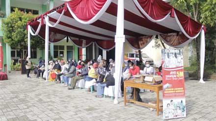 Vaksinasi Merdeka di STKIP Muhammadiyah Bogor