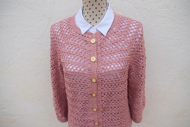 3 - Crochet Imagenes Chaqueta primavera a crochet y ganchillo por Majovel Crochet