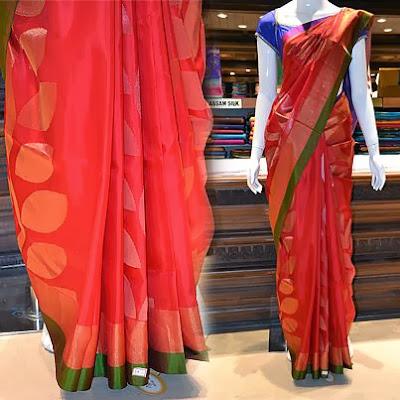Designer sarees,Silk cotton sarees,Printed silks, Silk cotton