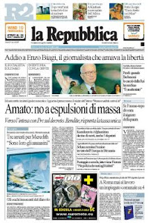 La Repubblica is now one of Italy's most popular newspapers