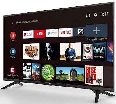 5. Micromax 40 inch Full HD Certified Android Smart LED TV