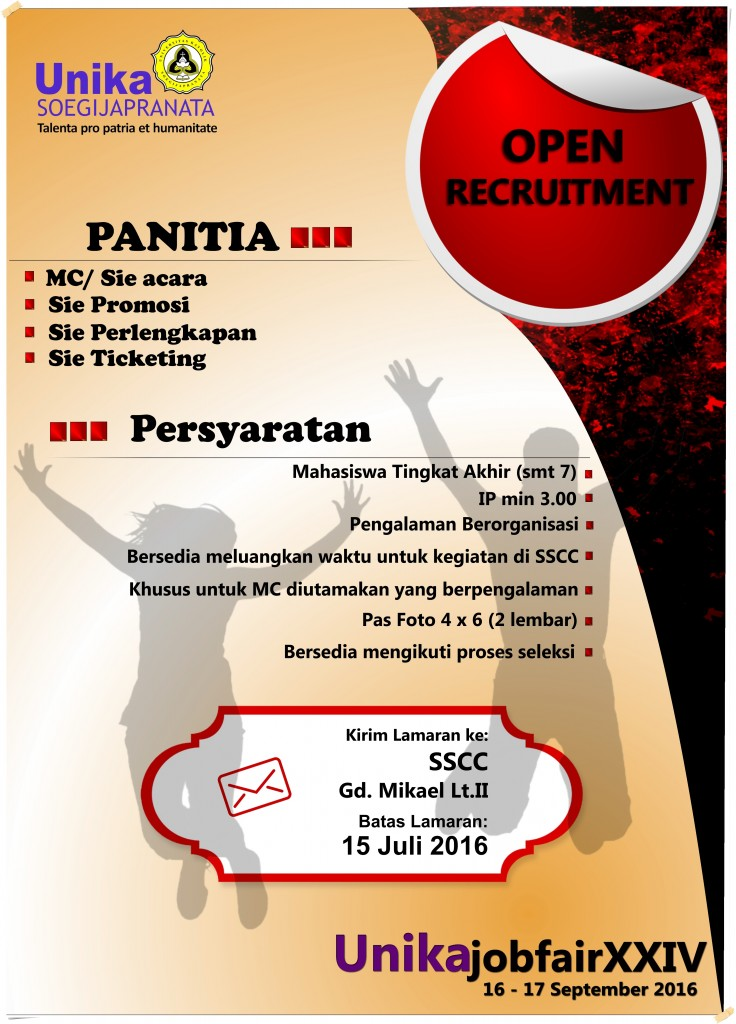 Open Recruitment Panitia Job Fair XXIV @ SSCC
