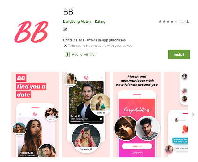 BangBang Match App : Find Your Flame In BANG BANG