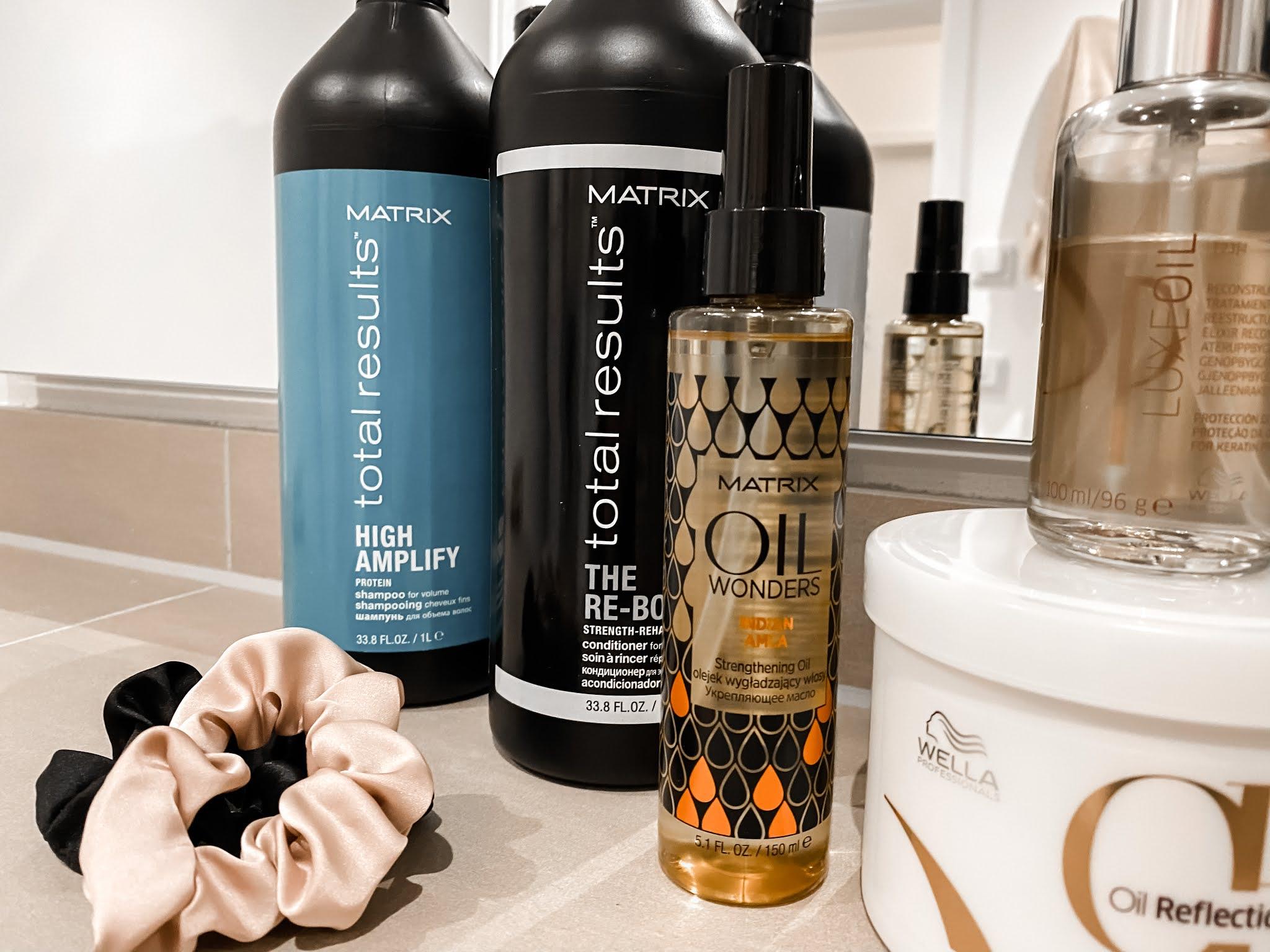 Winter Haircare Products Routine Matrix Wella