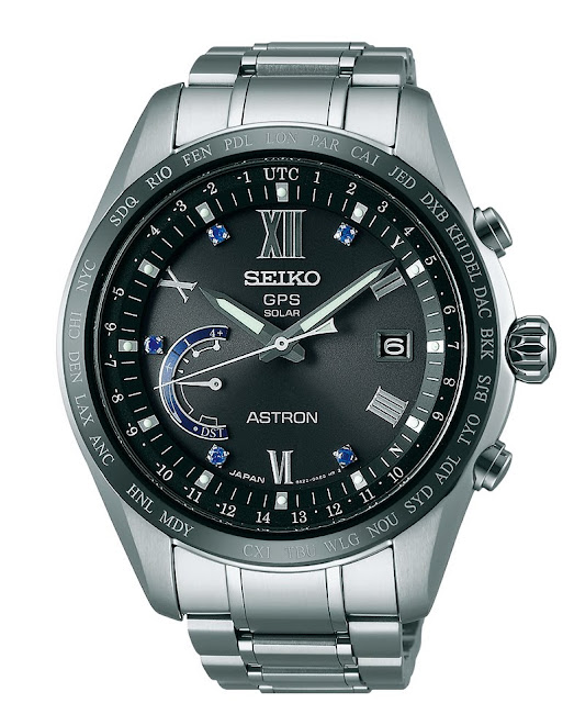 SEIKO Astron GPS Solar World Time SSE117J1 FRONTAL