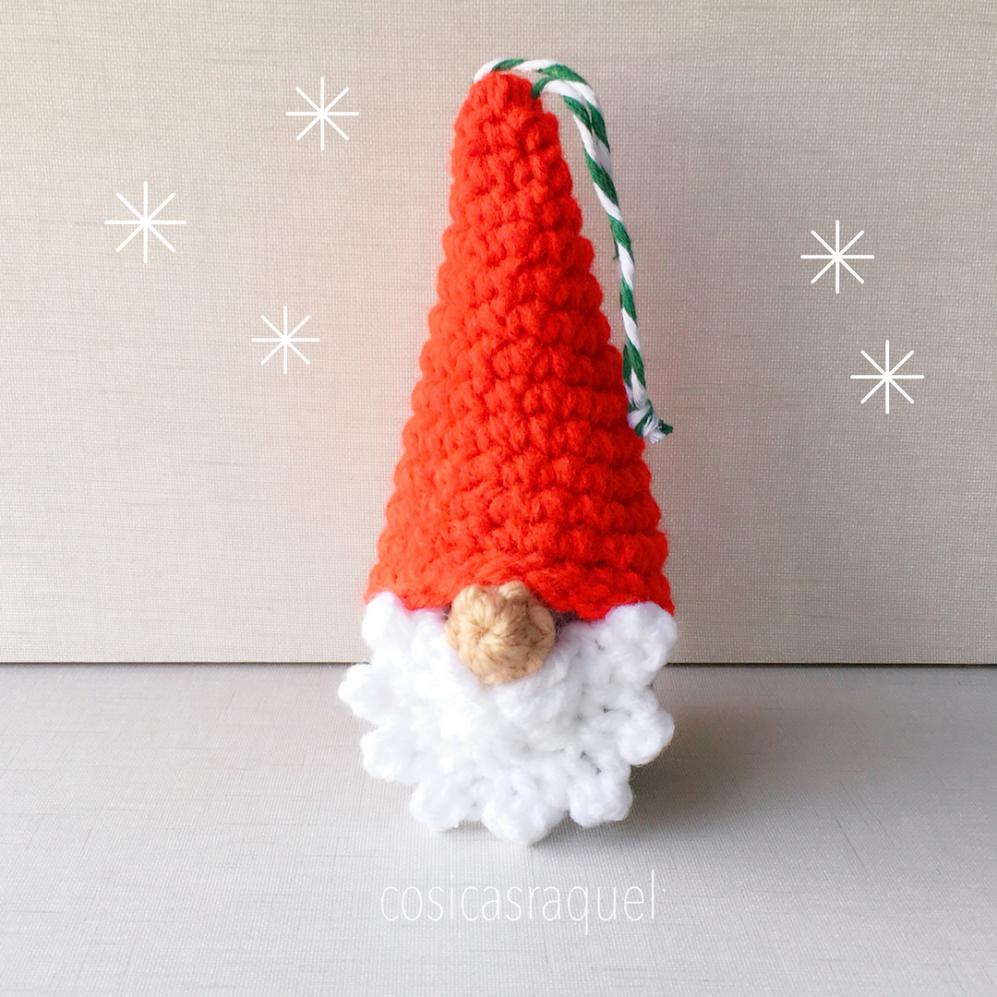 cosicasraquel: Gnomo Amigurumi Navidad
