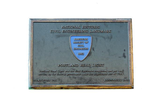 Placa del National Historic Civil Engineering Landmark