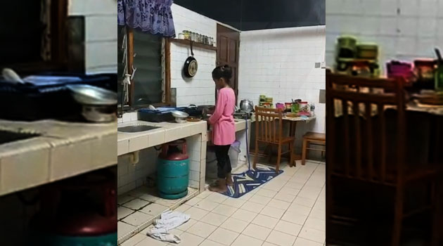 (Video) 'Masaklah untuk bekal pergi sekolah' - Ibu sebak, anaknya usia 10 tahun sediakan bekal sendiri