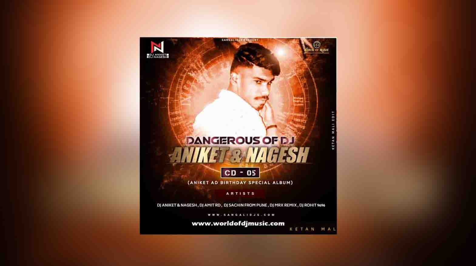 Mujhko Ranaji Maf Karna (Dhol Mix) - Dj Aniket & Nagesh Untag