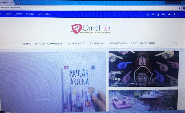 "Omah1001, Satu Semester ""Ngeblog"""