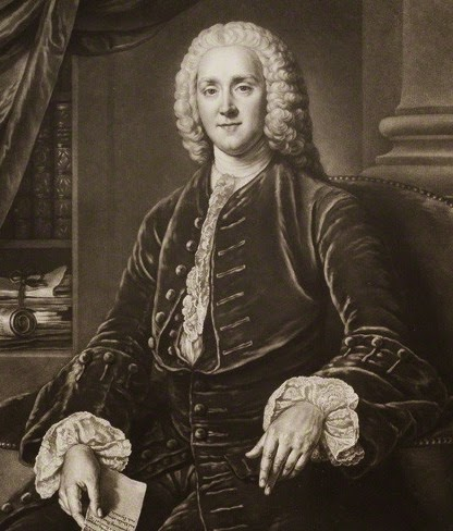 George Grenville  by and published by Richard Houston  after William Hoare mezzotint (c1750-75)  © NPG D20047 (cropped) (1)
