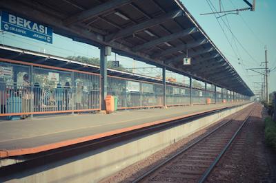Jadwal KRL dari Bekasi ke Jakarta Kota dan Pasar Senen