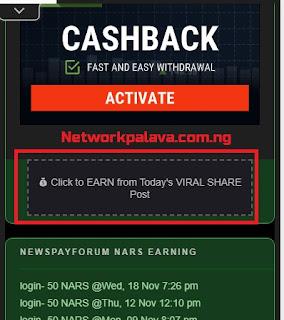 earn today viral share newspayforum